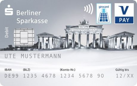 Sparkassen Card Debitkarte Berliner Sparkasse