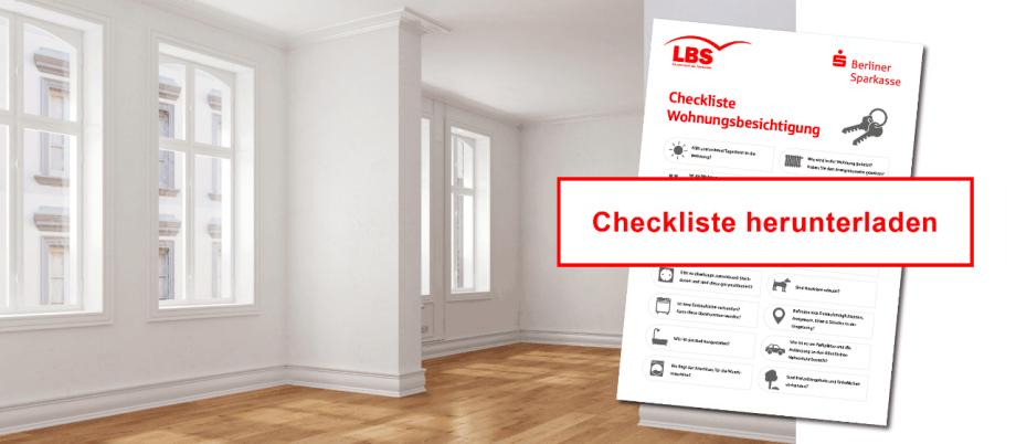 checkliste f r die wohnungsbesichtigung berliner sparkasse. Black Bedroom Furniture Sets. Home Design Ideas