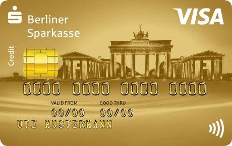 Visa Card Kreditkarte Berliner Sparkasse