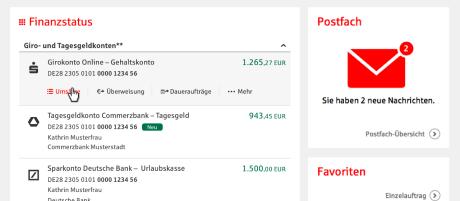 Multibanking Berliner Sparkasse